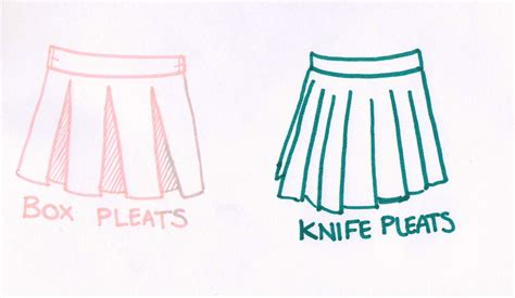 sewing pleated skirts tutorials