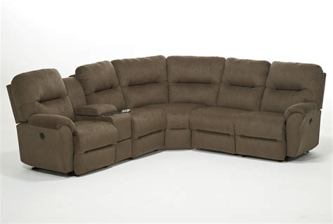 Best Power Reclining Sofa Best Home Furnishings Bodie Six Power Reclining Sectional Sofa H L Stephens Reclining