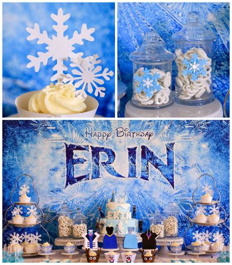 frozen themed party kelso kara s party ideas frozen themed 7th birthday party via