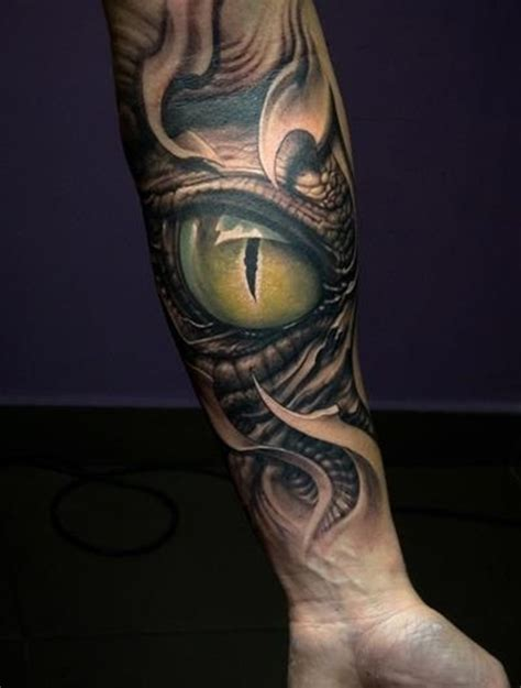 dragon eye tattoo 40 ultimate eye designs