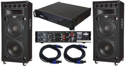 Kit Speaker Protector Primer Lf 149 pyle pro audio 2 padh182 dj passive 2800 watts 8 way dual 18 quot speakers with speakon cables