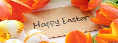 happy easter flowers facebook cover photo fbcovercom