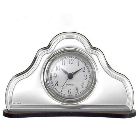 orologio sveglia da tavolo orologio sveglia da tavolo in argento e legno bel4612 8