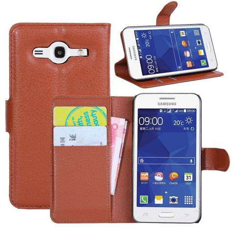 Casing Samsung Galaxy 2 G355 Casing Cover For Samsung Galaxy 2 G355h G3559 Flip Leather