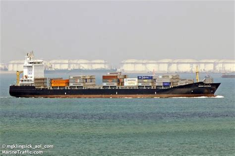 boatswain imo vessel details for warnow boatswain container ship