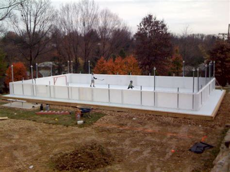 backyard hockey rink boards backyard ice rink boards outdoor furniture design and ideas