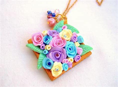 Handmade Polymer Clay - look what ive made projects jewellery