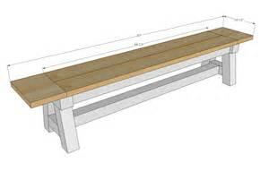 bench plan woodwork 4x4 bench plans pdf plans