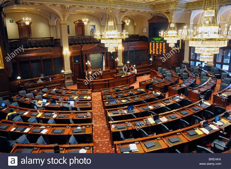 house of representatives illinois house of representatives chamber springfield illinois state capitol stock photo