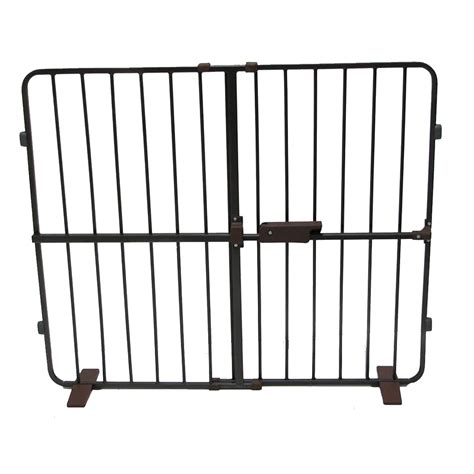pressure mounted baby gate 60 inches awesome regalo extra