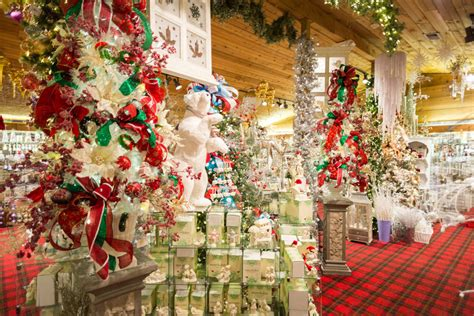 st nick nacks christmas shop decorations trees