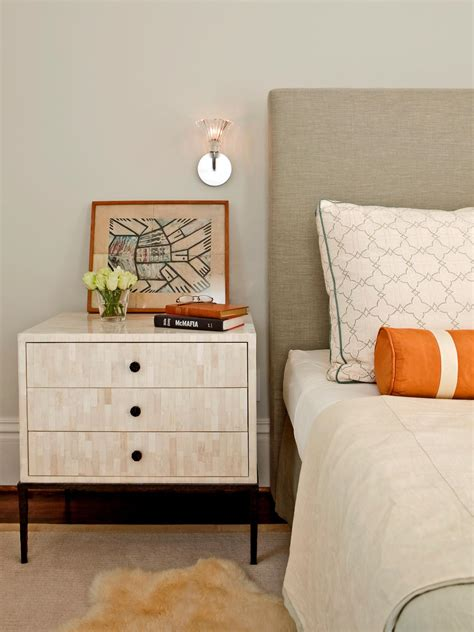 tips for a clutter free bedroom nightstand bedrooms bedroom decorating ideas hgtv