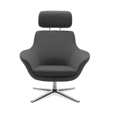 coalesse bob lounge chair with headrest