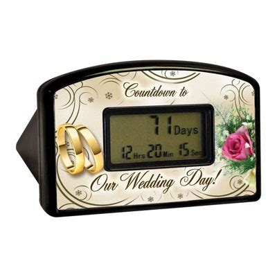 Desk Top Timer by Wedding Countdown Timer
