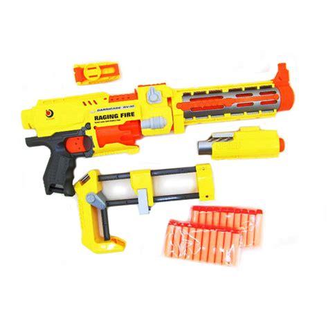 Pistol Mainan Pistol Busa Ala Nerf jual tsh pistol mainan model nerf semi otomatis peluru