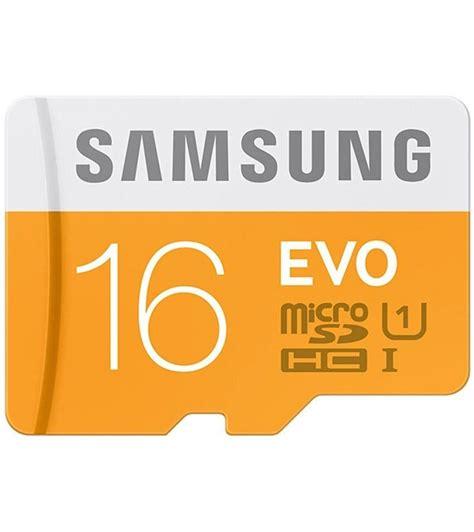 Memory Samsung Micro 16 Gb Samsung Microsdhc Kartu Memori Card 16gb samsung 16gb microsdhc evo memory card buy samsung evo 16gb microsdhc class 10 48 mb s