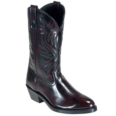 mens cowboy boots on sale sale laredo s power pack black cherry cowboy boots