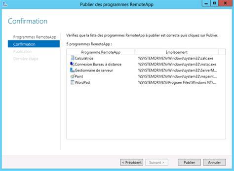 bureau à distance windows server 2012 187 windows server 2012 configuration des services bureau