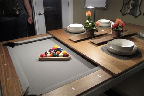 dining room table pool table pool table dining table awesome dinning tables pinterest