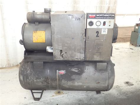 worthington air compressor 30 hp 11160110001 ebay