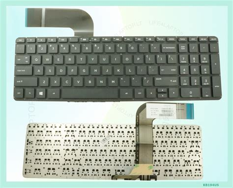hp us layout keyboard new black us layout laptop keyboard for hp pavillion 15 p