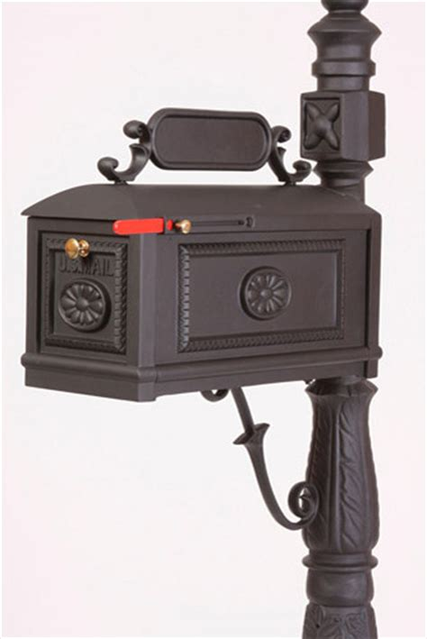 better mailboxes better box mailbox black residential curbside high