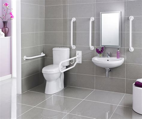 bathroom rails grab rails premier doc m pack disabled bathroom toilet basin and