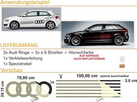 Aufkleber Audi Ringe by E66 Audi Ringe Auto Aufkleber Sticker A3 A4 A6 A8 Ebay