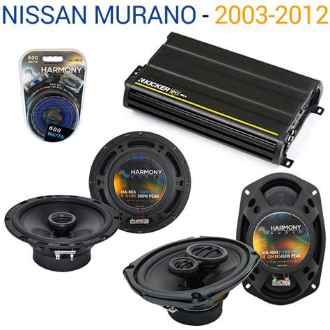 nissan 300 cx fits nissan murano 2003 2007 oem speaker upgrade harmony