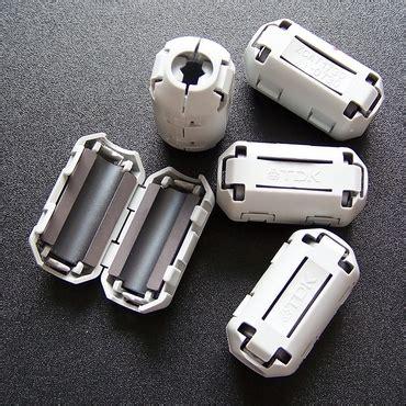 Perangkat Elektronik Lainnya Lainnya Tdk Snap On Noise Filter Ferrite jual magnet ferrite cls ferit diameter 7mm