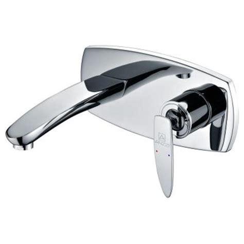 single handle wall mount bathroom faucet kokols wall mount 2 handle bathroom faucet in oil rubbed