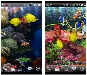 live wallpaper android java aquarium live wallpaper for android java phones com