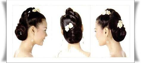 model sanggul model sanggul rambut modern