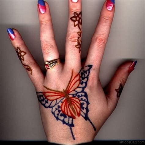 nice tattoo on hand 54 awesome butterfly tattoos on hand