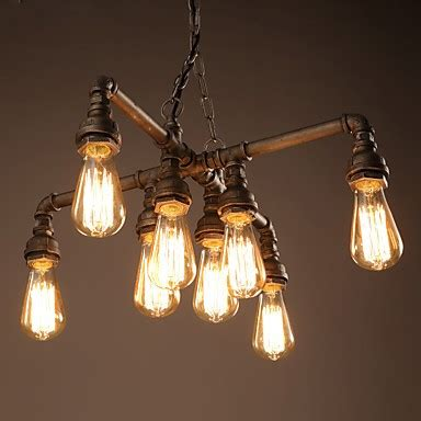 Water From Ceiling Light Fixture by Vintage Retro Water Pipe Light Chandelier Antique Classic