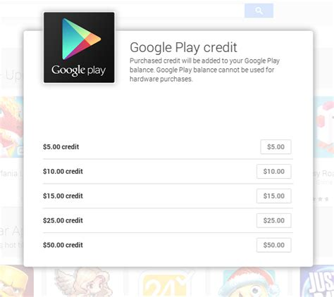 Play Store Gift Card Codes 2015 - keeping your spending in check with google play credit android central