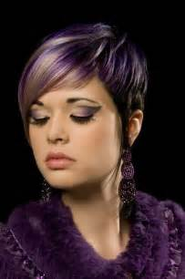 haircuts with color 17 stylish hair color designs purple hair ideas to try