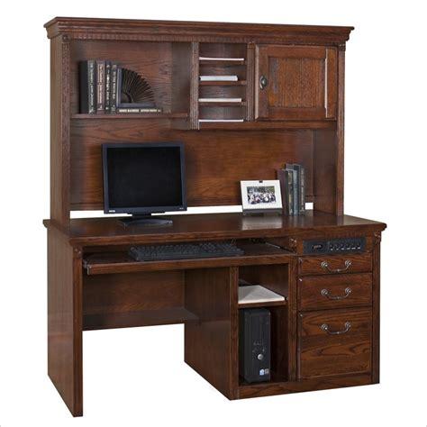 Wood Computer Desk With Hutch Commercial Computer Desks Home Office Computer Desk At Discount Sale Prices