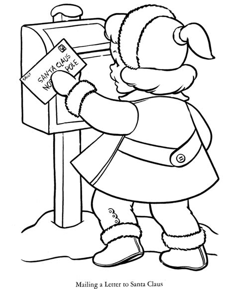 vintage christmas coloring pages coloring