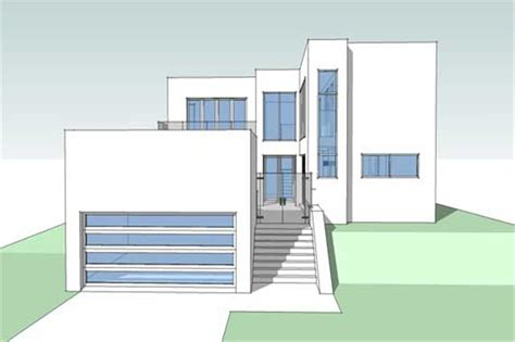 modern house blueprints modern house plans home design limestone barbados trees