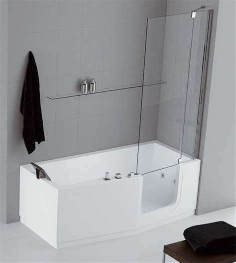 vasca da bagno con sportello e doccia foto vasca con sportello e doccia de sovabad italia s r l