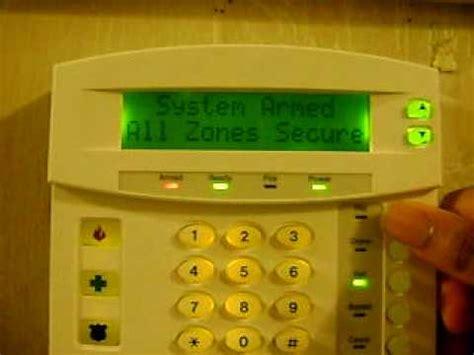 ge networx nx 4v2 home alarm security system siren test