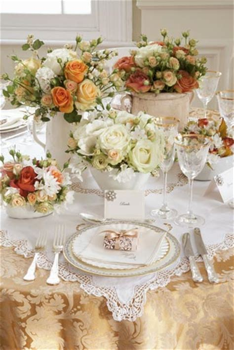 vintage table settings ideas shabby chic style part 2 table decoration