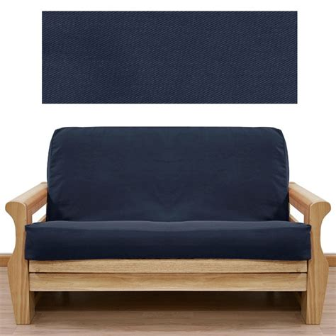 solid navy futon cover buy from manufacturer and save