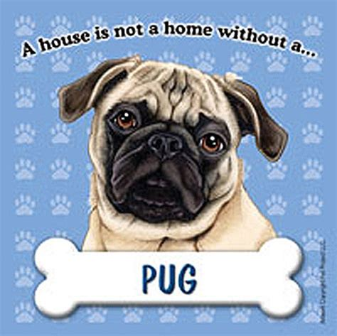 pug sign pug magnet sign house is not a home ebay