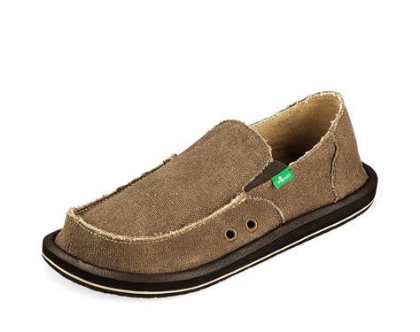 sanuk mens slippers sanuk casual shoes mens vagabond frayed edge canvas slip