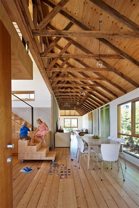 exposed rafter ceiling vaulted ceiling floor plans home design idea