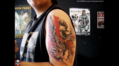 tattoo video awesome videogame tattoos youtube