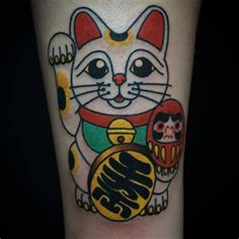 tattoodo on instagram maneki neko beccagennebacon