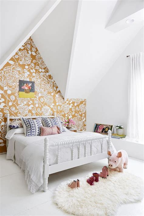 cute headboards for girls 30 stylish ways to use floral wallpaper in your home